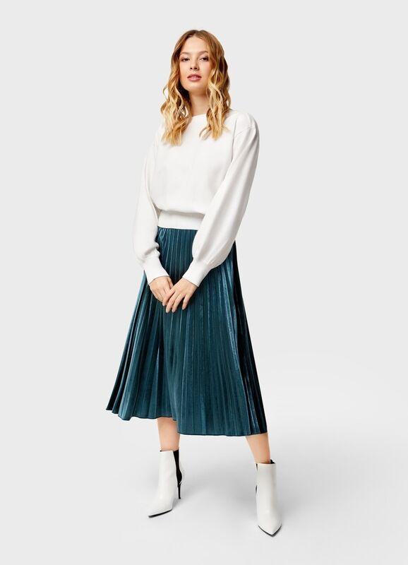 Кофта, блузка, футболка женская O'stin Укороченный джемпер LK4U12-02 - фото 1