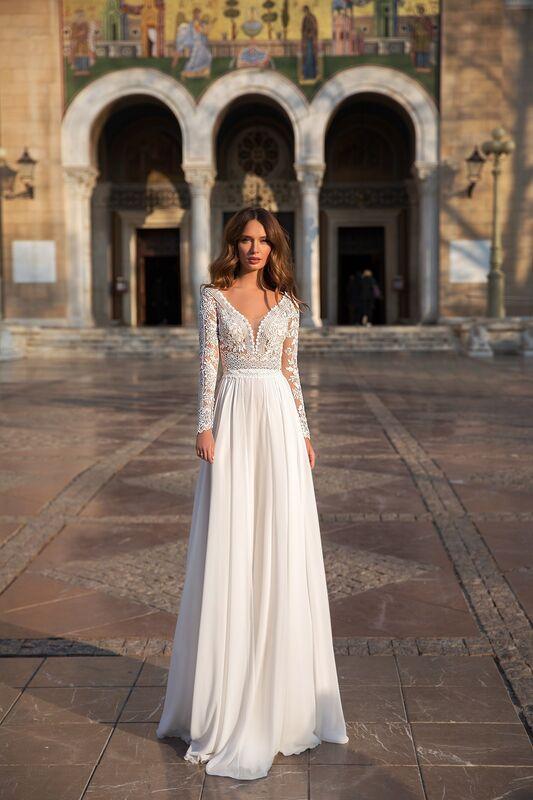 """Свадебное платье напрокат ALIZA свадебное платье """"Hiltomy"""" - фото 1"""