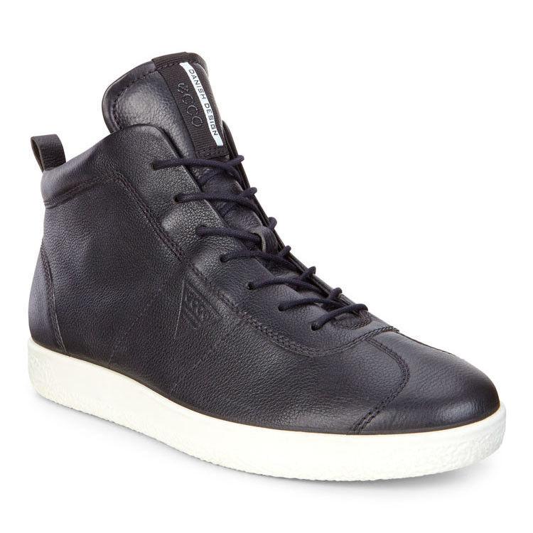 Обувь мужская ECCO Кеды высокие SOFT 1 400524/01001 - фото 1