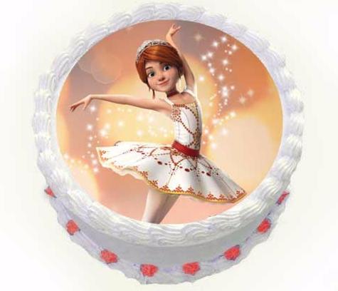 Торт Tortas Торт «Балерина» №1 - фото 1