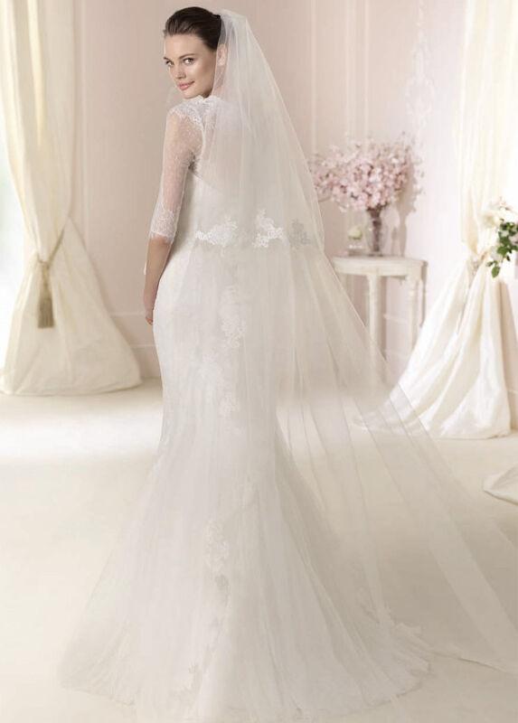 Свадебное платье напрокат White One (Pronovias) Платье свадебное «Dalit» - фото 2