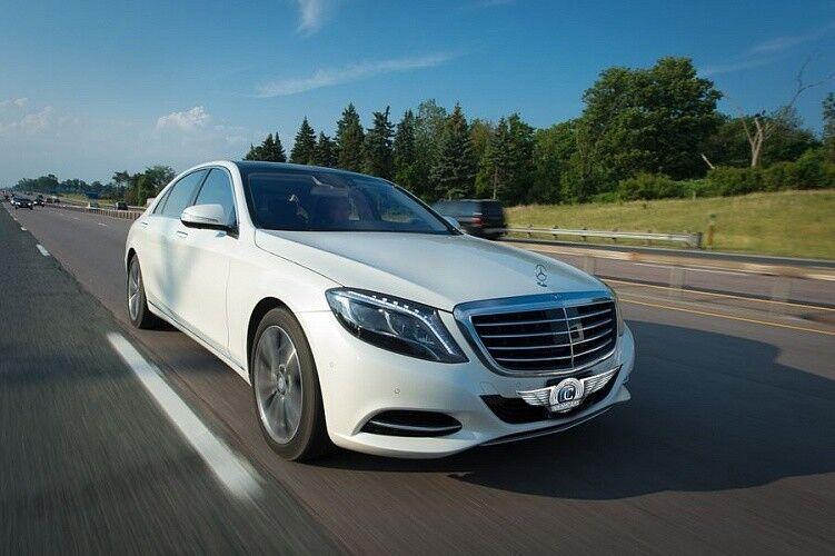 Прокат авто Mercedes-Benz W222 S-class белого цвета - фото 5