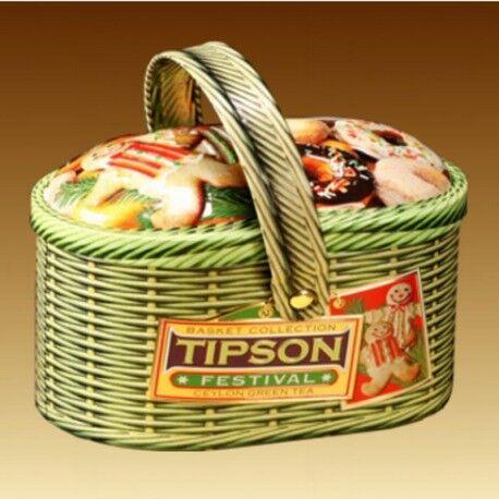 Подарок на Новый год Tipson Чай «Фестиваль» в лукошке, 100 гр - фото 1