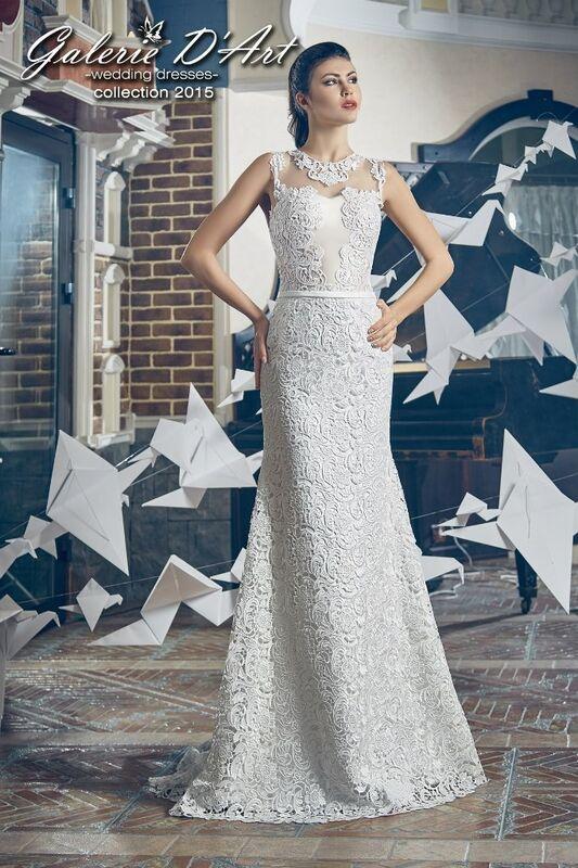 Свадебное платье напрокат Galerie d'Art Платье свадебное «Адель» из коллекции BESTSELLERS - фото 1