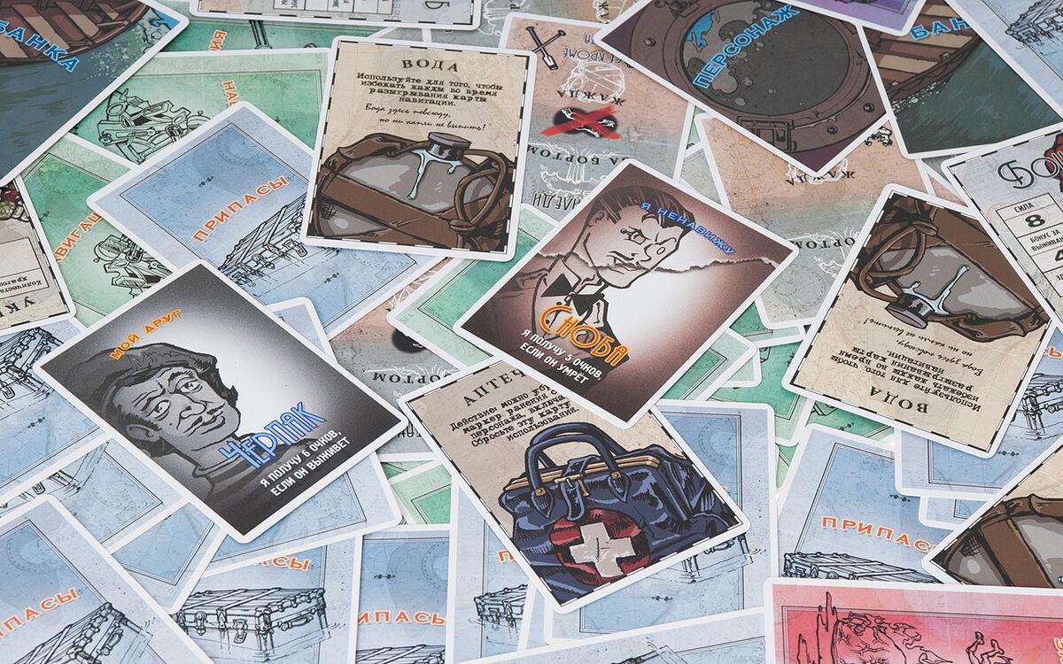 Магазин настольных игр Magellan Настольная игра «За бортом!» - фото 12