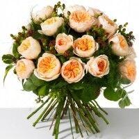 Магазин цветов Ветка сакуры Букет из роз № 27 (25 роз) - фото 1