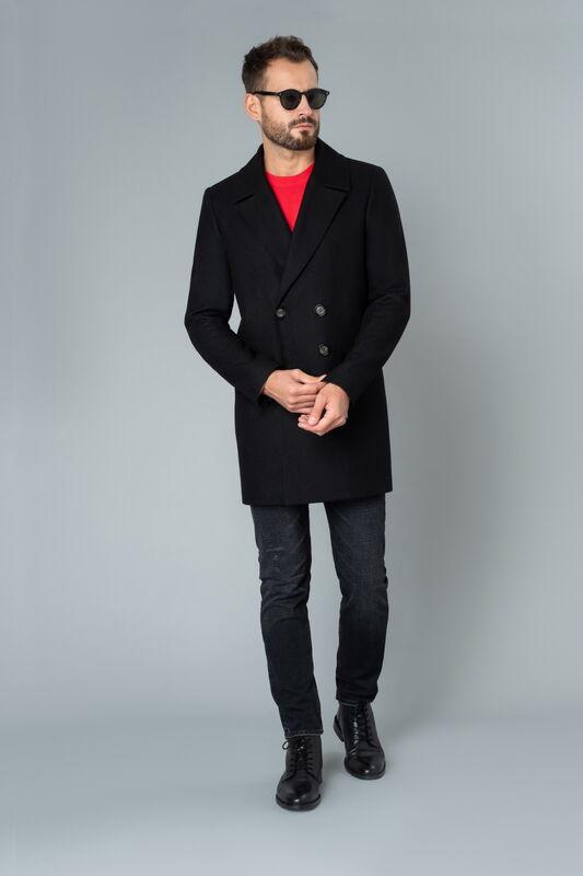 Верхняя одежда мужская Etelier Пальто мужское демисезонное 1М-8952-1 - фото 5