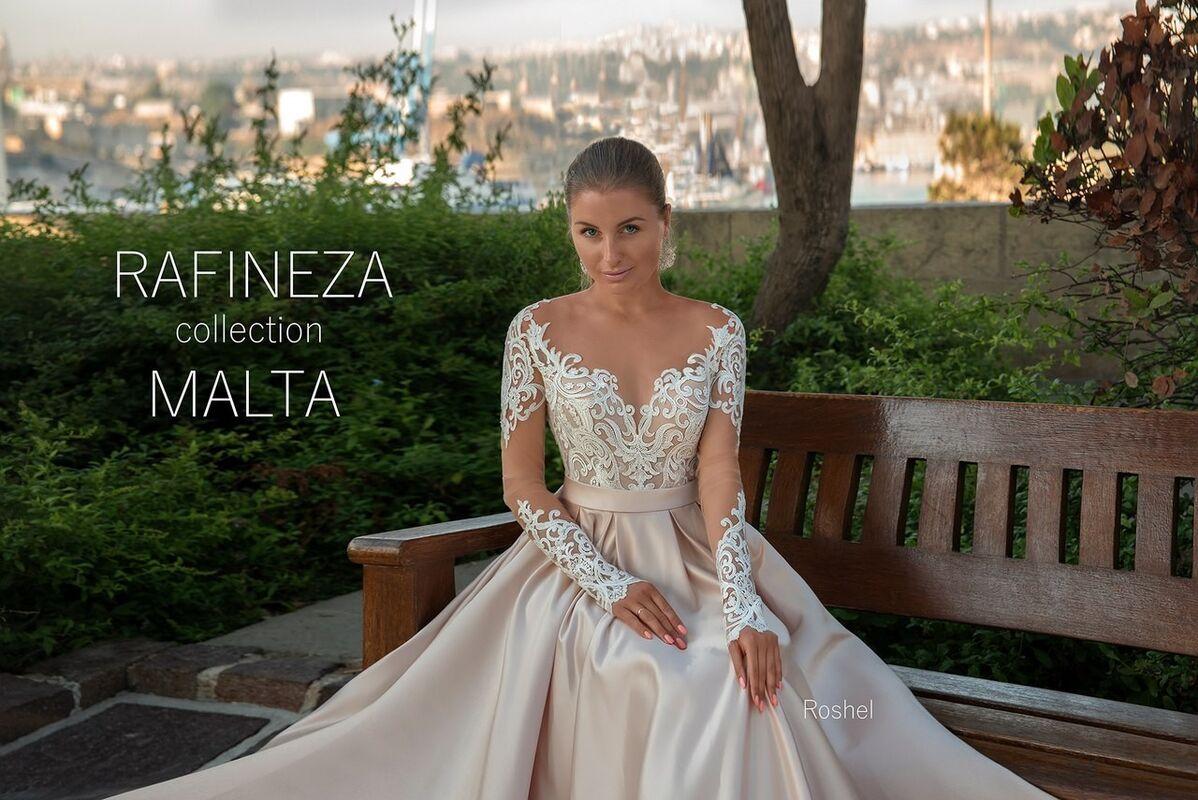 Свадебное платье напрокат Rafineza Свадебное платье Roshel напрокат - фото 2