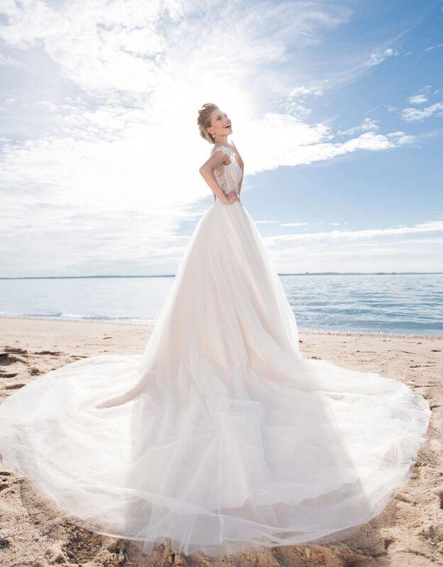 Свадебное платье напрокат Cosmobella Свадебное платье Kon-Tiki - фото 2