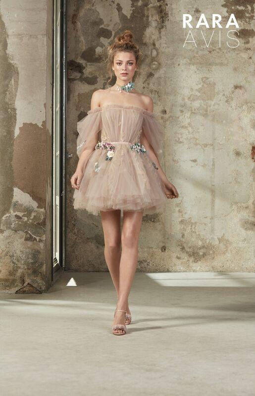 Свадебное платье напрокат Rara Avis Платье свадебное Floral Paradise  Levi - фото 2
