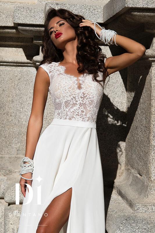 Свадебное платье напрокат Diantamo Платье свадебное Gracia - фото 2