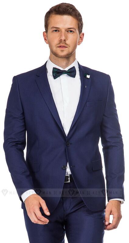 Костюм мужской Keyman Костюм мужской синий фактурный - фото 1