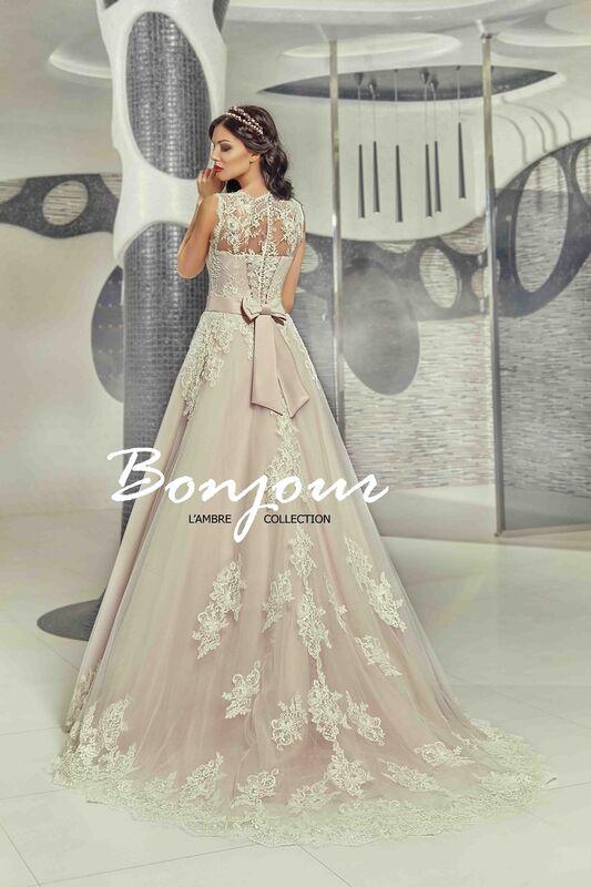 Свадебный салон Bonjour Galerie Свадебное платье «Ornella» из коллекции LAMBRE - фото 2