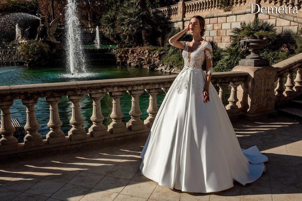 Свадебный салон Bonjour Свадебное платье «Demetra» из коллекции LA POESIE 2017 - фото 2