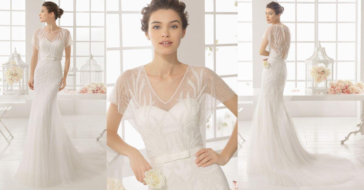 Свадебное платье напрокат Rosa Clara Платье свадебное Madian - фото 2