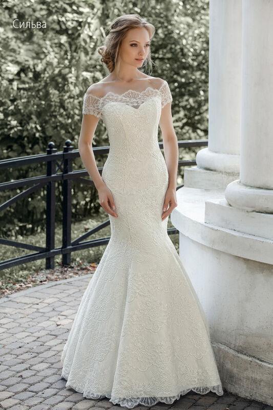 Свадебное платье напрокат Vintage Платье свадебное «Сильва» - фото 1