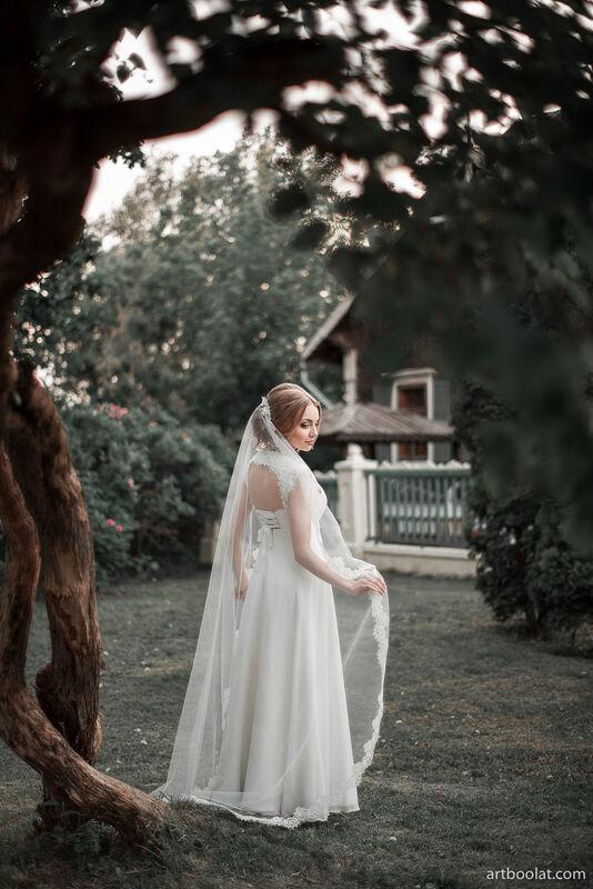 Свадебное платье напрокат Артемида Свадебное платье Kristina - фото 3