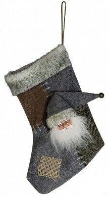 Подарок на Новый год Eurotrading Носок для подарков, 29 см, полиэстер - фото 1