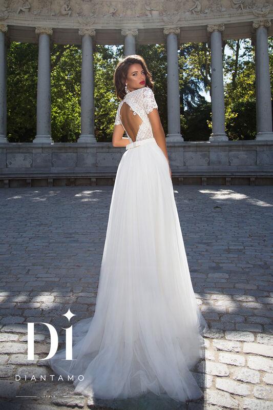 Свадебное платье напрокат Diantamo Платье свадебное Alessandra - фото 3