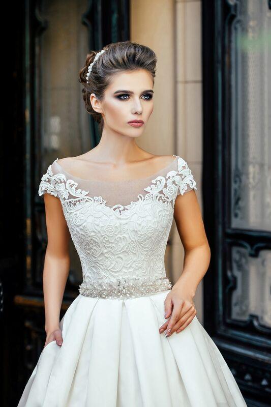 Свадебное платье напрокат Nicole Платье свадебное Olivia - фото 3