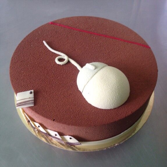 Торт Brioche Paris Торт №49 Вишня-пралине - фото 1