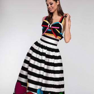 Платье женское Pintel™ Комплект из топа-бюстье и юбки Claire - фото 1