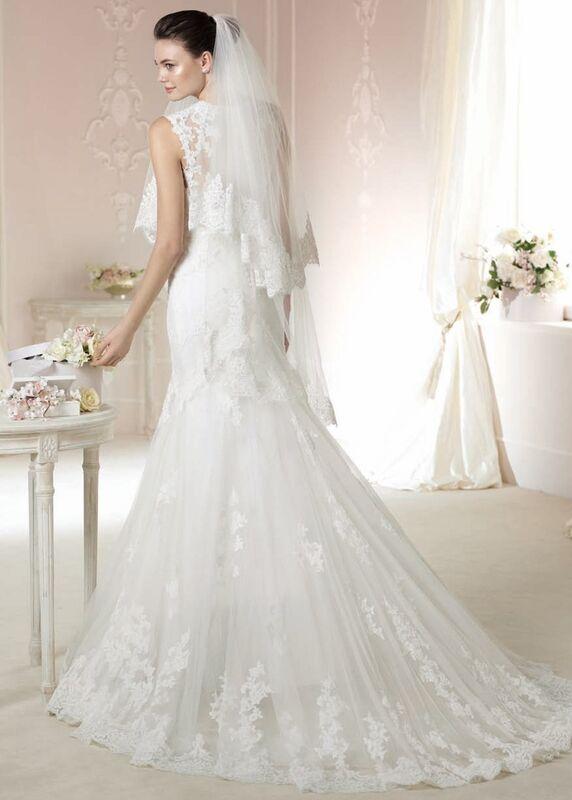 Свадебное платье напрокат White One (Pronovias) Платье свадебное «Daimi» - фото 2