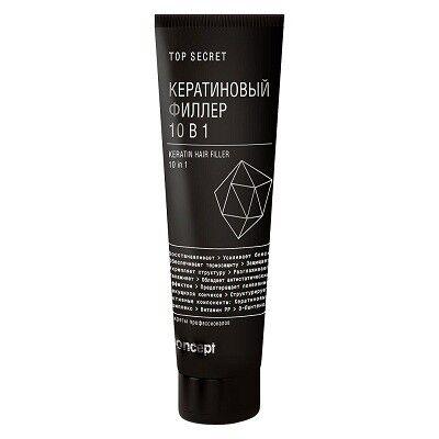 Уход за волосами Concept Кератиновый филлер для волос 10 в 1 «Top Secret» - фото 1