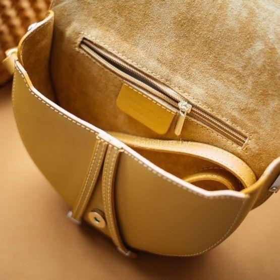 Магазин сумок Vezze Кожаная женская сумка C00473 - фото 4