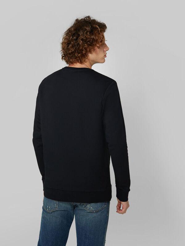 Кофта, рубашка, футболка мужская Trussardi Толстовка мужская 52F00147-1T003041 - фото 2