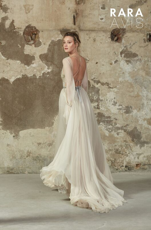 Свадебное платье напрокат Rara Avis Платье свадебное Floral Paradise Mleria - фото 2