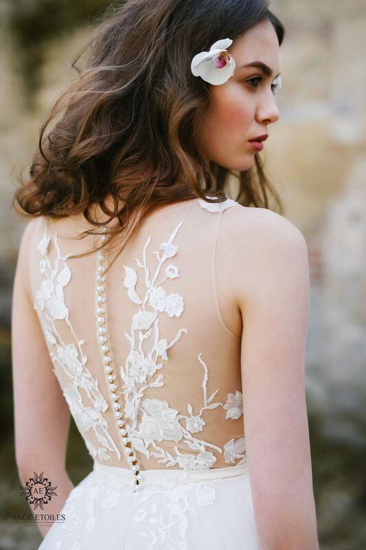 Свадебное платье напрокат Ange Etoiles Платье свадебное AEriality Collection  Alin - фото 3