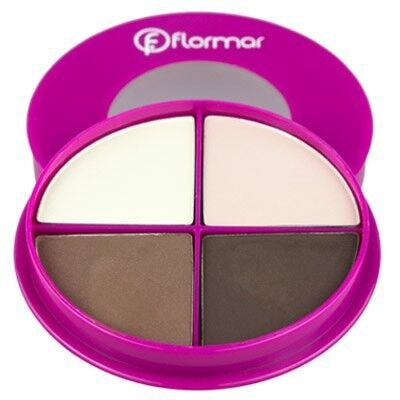Декоративная косметика Flormar Тени для век Pretty Quartet Eye Shadow - фото 1