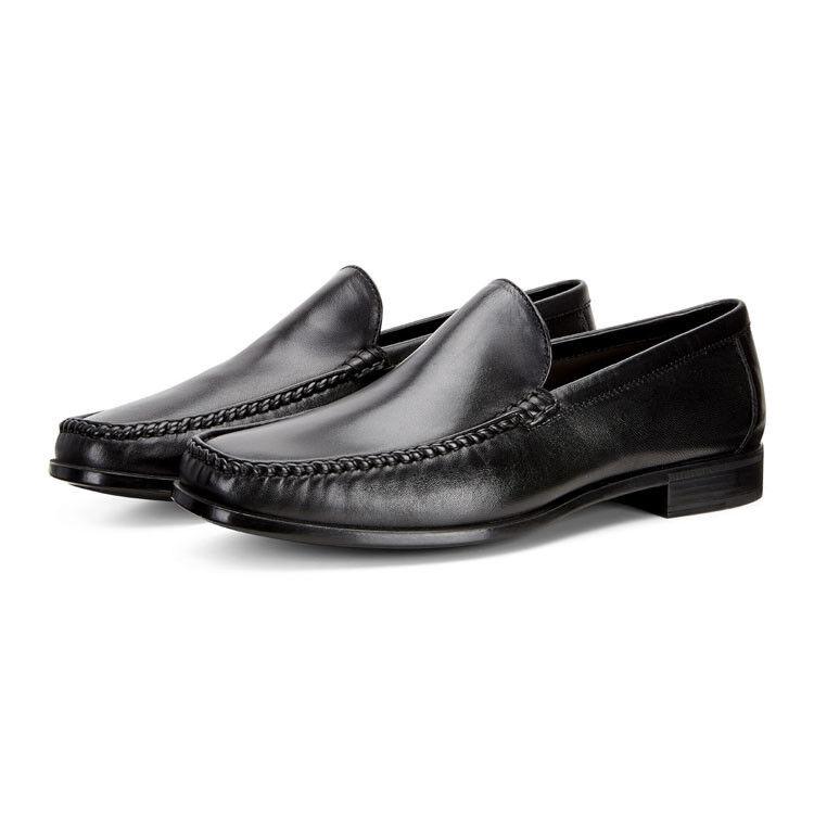 Обувь мужская ECCO Мокасины DRESS MOC 661824/11001 - фото 8