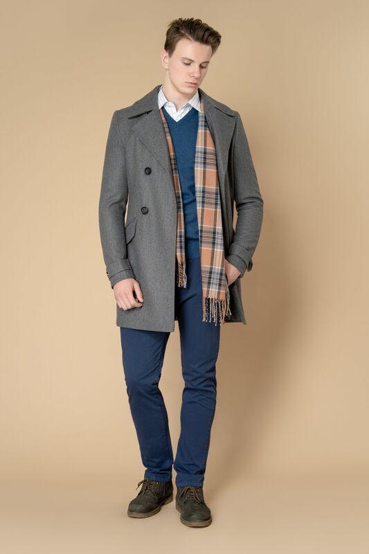 Верхняя одежда мужская Etelier Пальто мужское демисезонное 1М-8651-1 - фото 2