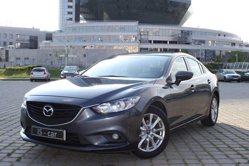Аренда авто Mazda 6 - фото 1