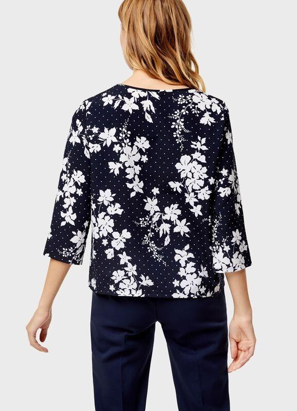 Кофта, блузка, футболка женская O'stin Блуза с декoративными пуговицами LS4U11-69 - фото 2