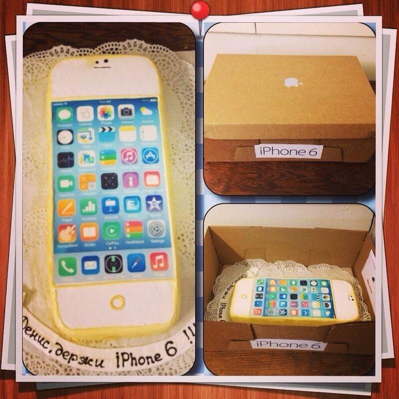 Торт МЕГАТОРТ Торт «iPhone» - фото 1