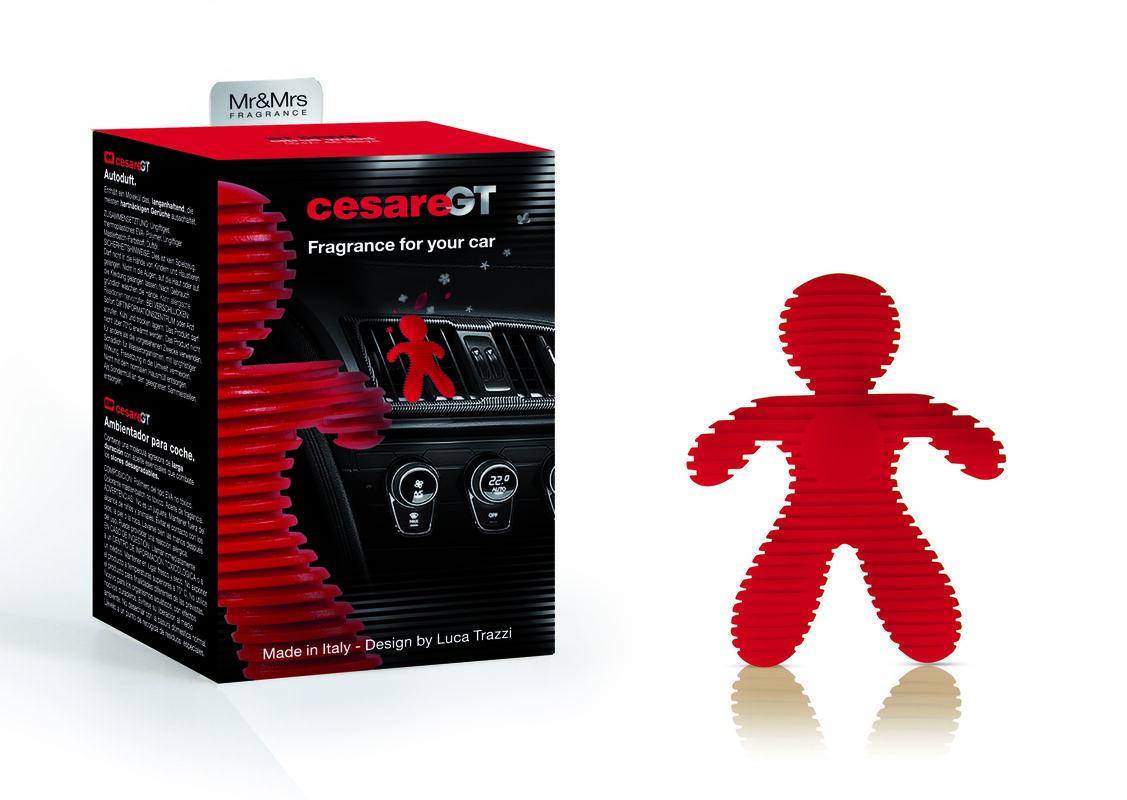 Подарок на Новый год Mr & Mrs Fragrance Ароматизатор воздуха для авто Cesare GT - фото 5