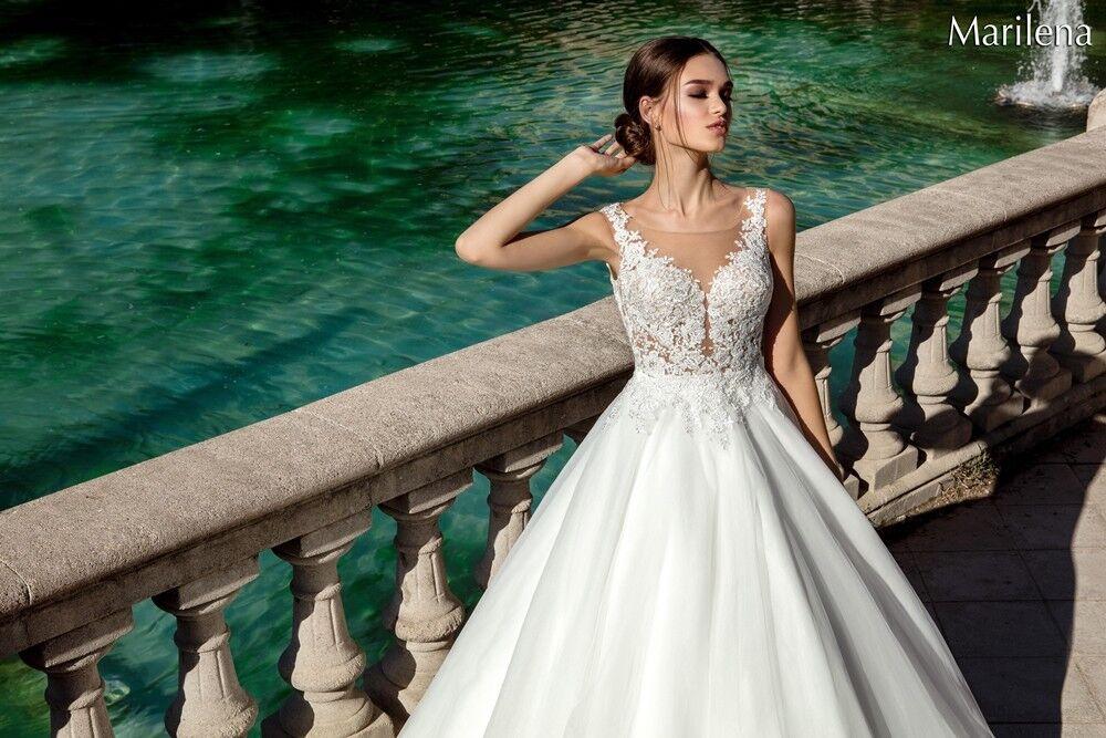Свадебное платье напрокат Bonjour Платье свадебное «Marilena» из коллекции LA POESIE 2017 - фото 2