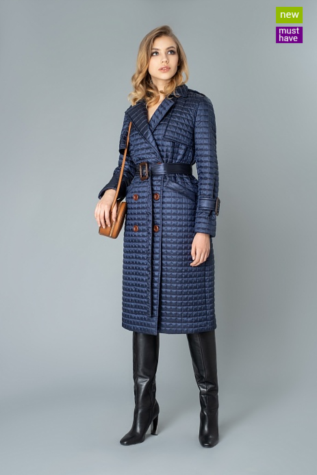 Верхняя одежда женская Elema Пальто женское плащевое утепленное 5-9232-1 - фото 1