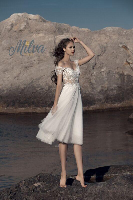 Свадебное платье напрокат Milva Платье свадебное Bruna - фото 1