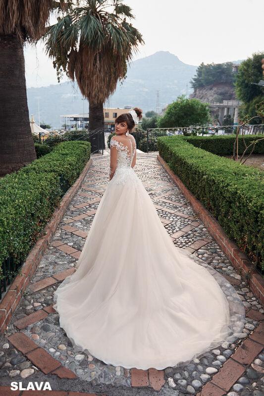 Свадебный салон Bonjour Galerie Свадебное платье SLAVA из коллекции BELLA SICILIA - фото 1