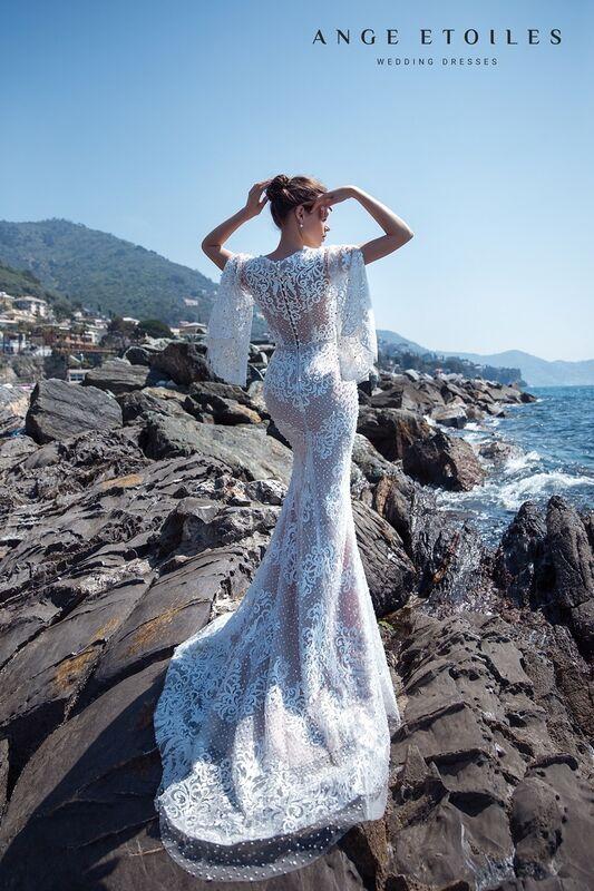 Свадебное платье напрокат Ange Etoiles Свадебное платье Ali Damore Olympia - фото 2