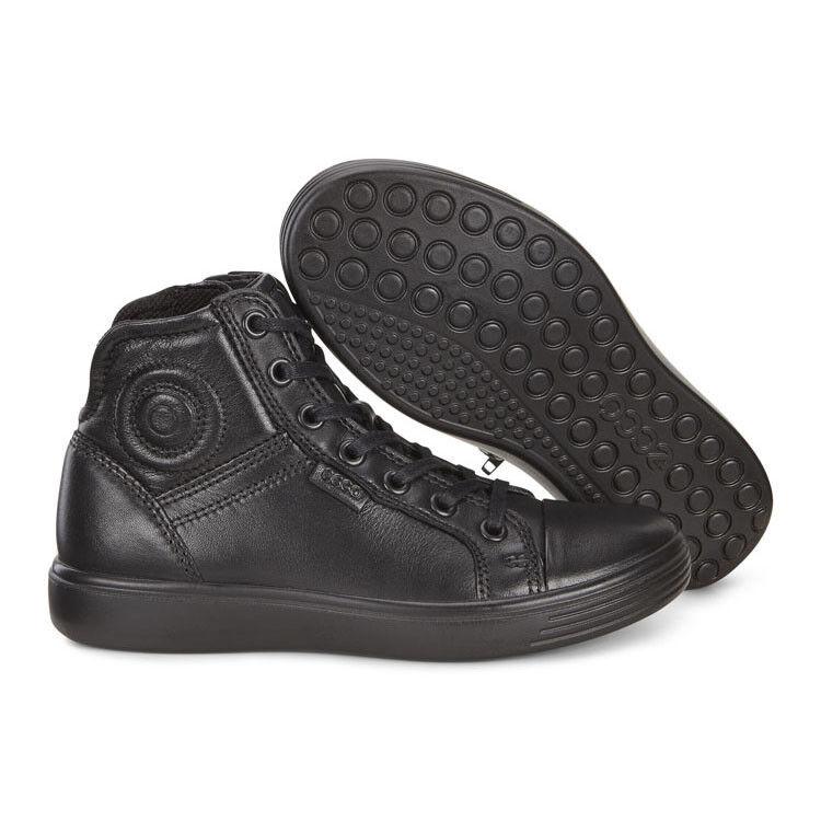 Обувь детская ECCO Кеды высокие S7 TEEN 780003/51052 - фото 8