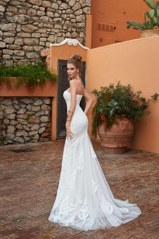 Свадебное платье напрокат City Bride Свадебное платье VS11618 - фото 2