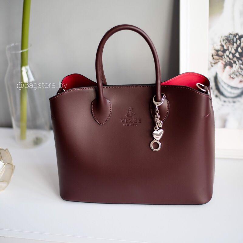 Магазин сумок Vezze Кожаная женская сумка C00439 - фото 2