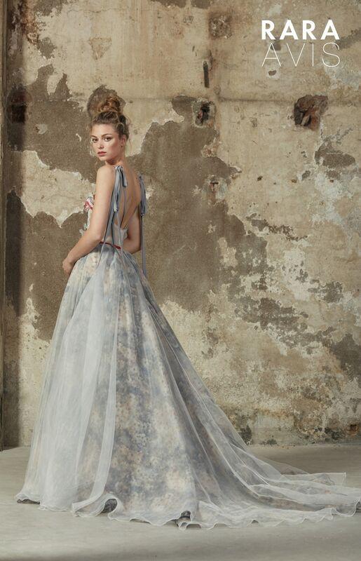 Свадебный салон Rara Avis Свадебное платье Floral Paradise  Maria - фото 3