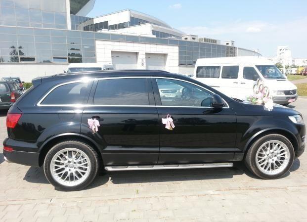 Прокат авто Audi Q7 черного цвета - фото 5