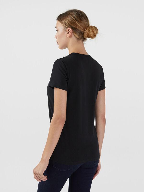 Кофта, блузка, футболка женская Trussardi Футболка женская 56T00200-1T001638 - фото 2